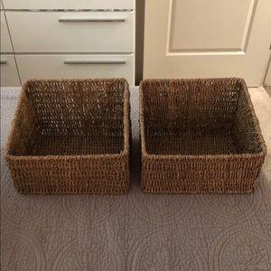 Other - Wicker baskets